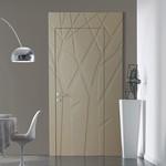 интериорни врати с фино фрезоване солидни