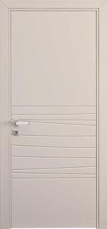 интериорни врати с фино фрезоване модернистични