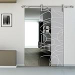 дизайнерски стъклени интериорни врати нечупливи