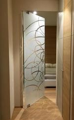 издръжливи  луксозни стъклени интериорни врати